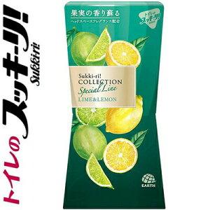トイレのスッキーリ! コレクション ライム&レモンの香り 消臭芳香剤 400mL ( アース製薬 トイレのスッキーリ )