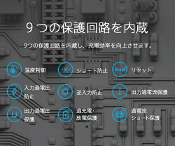 9つの保護回路