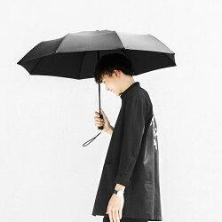 【正規品】自動開閉式折り畳み傘MiAutomaticFoldingUmbrella(ブラック)Xiaomi小米シャオミ軽量耐風強い耐久頑丈ワンタッチ折り畳み便利
