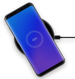 ZMIQi対応ワイヤレス充電パット|ZMI(紫米、ズーミー)最大10W出力2.5Dガラスパネル採用アルミフレーム異物検出機能付多彩な安全保護機能ケースつけたまま充電対応