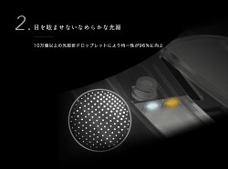 LED卓上ミラー鏡化粧鏡人感センサー付き化粧ミラーLEDライト付き卓上鏡女優ミラーコードレス充電式バッテリー内蔵3段階明るさ調節可能AMIRO正規代理店送料無料