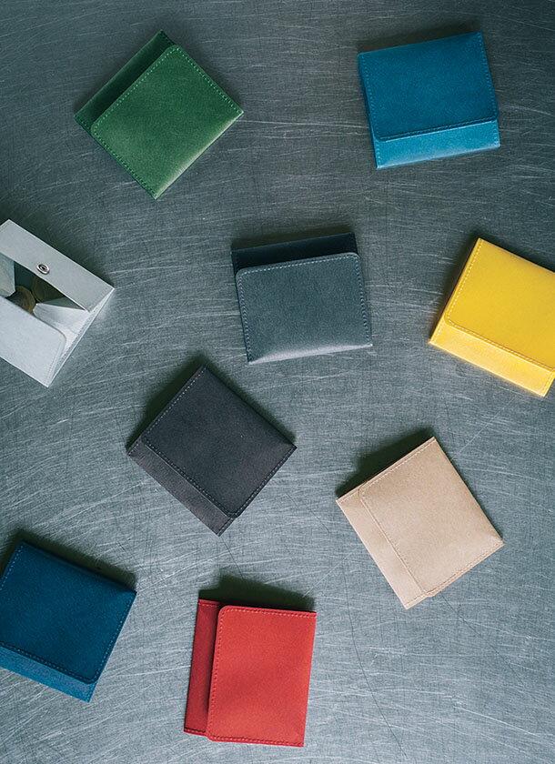 コインケース スナップ付 / SIWA | 紙和 【 定形外郵便物 送料無料 】(和紙メーカー【 大直 】と工業デザイナー【 深沢直人氏 】がつくったアイテム)
