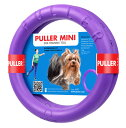 犬用 おもちゃ PULLER(プラー) MINI (小) 2個1組 小・中型犬用 ボール ロープ フライングディスク
