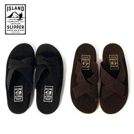 メンズ/ISLAND SLIPPER/アイランドスリッパ/スエードレザーサンダル/スエード/ハワイ製/ハンドメイド/品番:PB223,PT223