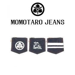MOMOTAROJEANS/桃太郎ジーンズ/デニム小銭入れ/出陣/家紋/桃太郎/品番:AS-38