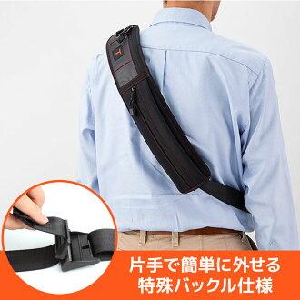 甚至使用德國製造帶扣的布帶賒帳是腰身,但是。作為能根據樣式分別使用的舒適的2WAY布帶挎包的SL-25