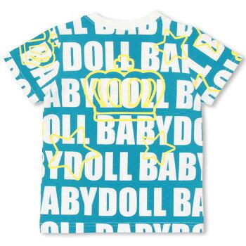 5/22NEW総柄Tシャツ-子供服ベビーキッズ男の子女の子ベビードールBABYDOLLstarvations-9310K_ss_sts
