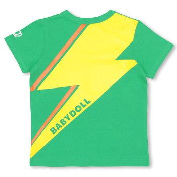 5/11NEW通販限定イナズマTシャツK-ベビーキッズベビードールBABYDOLL-0538_ss