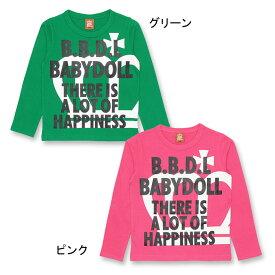 【990円均一SALE(税抜】通販限定 ロンT 0815K ベビードール BABYDOLL 子供服ベビー キッズ 男の子 女の子
