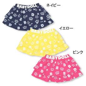 【50%OFF アウトレットSALE】総柄 フリル スカート 2091K ベビードール BABYDOLL 子供服 ベビー キッズ 男の子 女の子