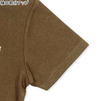 2/4NEW親子お揃い箔ヒョウ柄Tシャツ2181KベビードールBABYDOL子供服ベビーキッズ男の子女の子