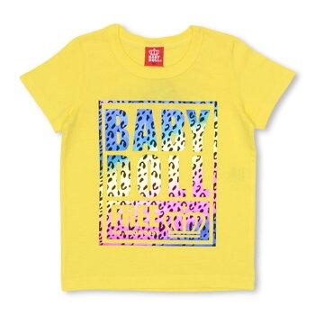 3/29NEW親子お揃いヒョウ柄グラデーションTシャツ2244KベビードールBABYDOLL子供服ベビーキッズ男の子女の子