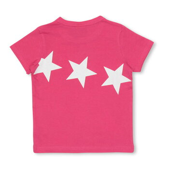 5/29NEW親子お揃いスターメッセージTシャツ2628KベビードールBABYDOLL子供服ベビーキッズ男の子女の子