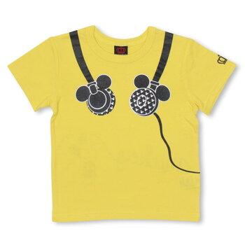 4/20NEWディズニーキャラクターヘッドホンTシャツ4052KベビードールBABYDOLL子供服ベビーキッズ男の子女の子/DISNEY★Collection