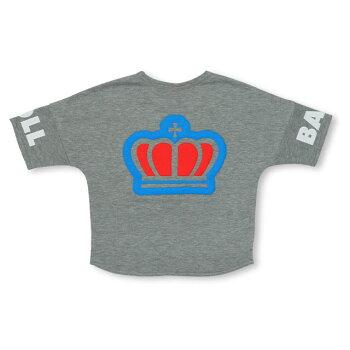 2/19NEWBIG王冠半袖トレーナー4934K(ボトム別売)ベビードールBABYDOLL子供服ベビーキッズ男の子女の子