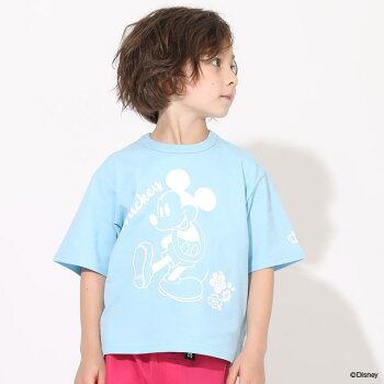 6/1NEWディズニーTシャツ5064KベビードールBABYDOLL子供服ベビーキッズ男の子女の子DISNEY★Collection
