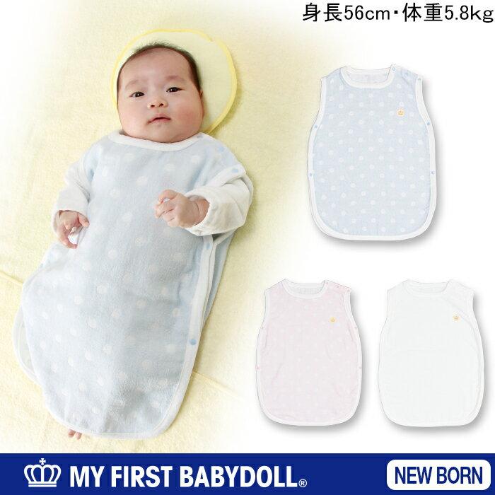 【50%OFF アウトレットSALE】BABYDOLL MY FIRST BABYDOLL 水玉スリーパー 肌に優しい綿100%-新生児用 50〜60cm ベビー ベビー服 ベビードール BABYDOLL starvations-5634
