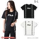 3/30NEW BABYDOLL 親子ペア FILA-ロゴラインTシャツ-大人 男女兼用 レディース メンズ S-L ホワイト ブラック フィラ ベビードール starvations-0698A 20