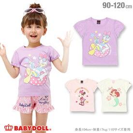 8128d4b211346 4 12一部再販  S50 通販限定 BABYDOLL ディズニー キャラクターTシャツ
