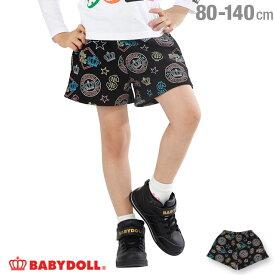 【50%OFF アウトレットSALE】 通販限定 ネオン 総柄 ショートパンツ 1689K ベビードール BABYDOLL 子供服ベビー キッズ 男の子 女の子