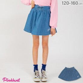 【30%OFF アウトレットSALE】PINKHUNT ピンクハント レースアップ フレア スカート 1832K ベビードール BABYDOLL 子供服 キッズ ジュニア 女の子 小学生 中学生 おしゃれ かわいい PH
