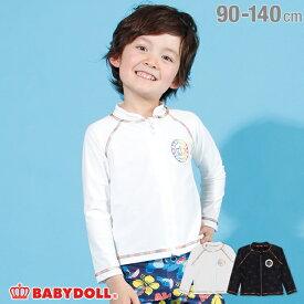【30%OFF アウトレットSALE】通販限定 レインボー ラッシュガード 2212K ベビードール BABYDOLL 子供服ベビー キッズ 男の子 女の子