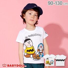 7/2一部再販 ドラえもん キャラクター Tシャツ 2286K ベビードール BABYDOLL 子供服 ベビー キッズ 男の子 女の子
