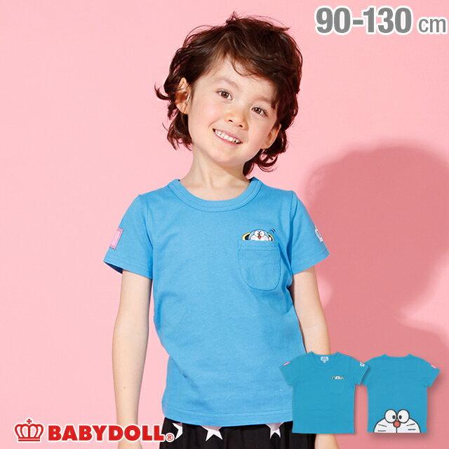 ドラえもん BIGフェイス Tシャツ 2288K ベビードール BABYDOLL 子供服 ベビー キッズ 男の子 女の子