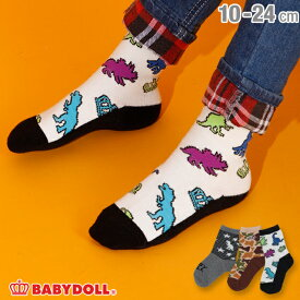 クルーソックスセット 3040 雑貨 靴下 レッグウェア ベビードール BABYDOLL ベビー キッズ 男の子 女の子