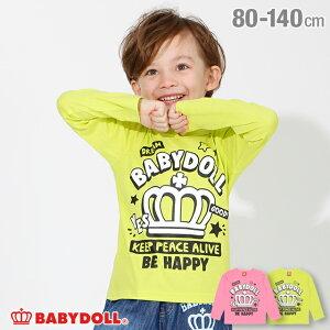 【990円均一SALE(税抜】ロンT2701K ベビードール BABYDOLL 子供服 ベビー キッズ 男の子 女の子
