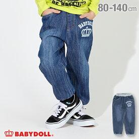 【SALE】デニム ロングパンツ 2702K ベビードール BABYDOLL 子供服 ベビー キッズ 男の子 女の子