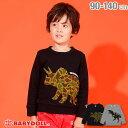 11/6NEW 迷彩恐竜 トレーナー 3402K ベビードール BABYDOLL 子供服 ベビー キッズ 男の子 女の子 vip30
