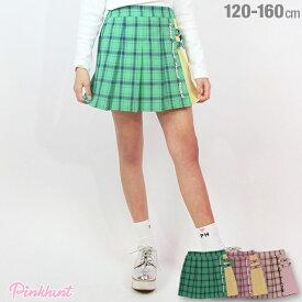 PINKHUNT ピンクハント チェック プリーツ スカート 3520K ベビードール BABYDOLL キッズ ジュニア 女の子 小学生 中学生 PH