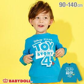 【S50】 ディズニー ロゴ しかけ トレーナー 3526K ベビードール BABYDOLL 子供服 ベビー キッズ 男の子 女の子 コスチューム コスプレ DISNEY★Collection