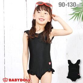 NEW フリル 水着 ワンピース 3713K ベビードール BABYDOLL 子供服 ベビー キッズ 女の子