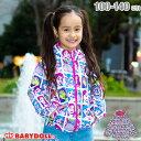 【S50 スプリング】ディズニー 総柄 ウィンドブレーカー 3764K ベビードール BABYDOLL 子供服 ベビー キッズ 女の子 …