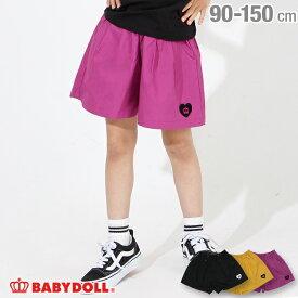【50%OFF アウトレットSALE】ハート 刺繍 キュロット 3777K ベビードール BABYDOLL ベビー キッズ 女の子