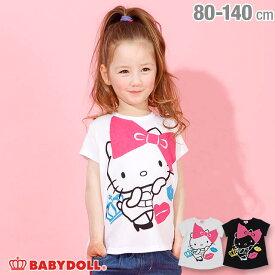 【30%OFF アウトレットSALE】サンリオ BIGリボン キャラクター Tシャツ 3894K ベビードール BABYDOLL 子供服 ベビー キッズ 男の子 女の子