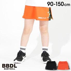 【4/12 10時〜TIME SALE 60%OFF】 BBDL(ビー・ビー・ディー・エル) サイドスナップ スカート 3946K ベビードール BABYDOLL 子供服 ベビー キッズ ジュニア 女の子
