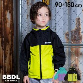 【50%OFF アウトレットSALE】 BBDL(ビー・ビー・ディー・エル) 切替 ジップパーカー 3966K ベビードール BABYDOLL 子供服 ベビー キッズ 男の子 女の子