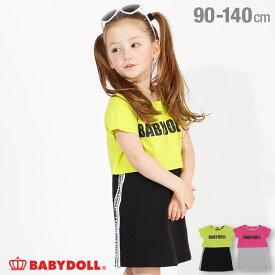 【30%OFF アウトレットSALE】Tシャツ付き ノースリワンピース 4044K ベビードール BABYDOLL 子供服 ベビー キッズ 女の子