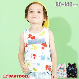 【30%OFF アウトレットSALE】ペイント タンクトップ 4241K ベビードール BABYDOLL 子供服 ベビー キッズ 男の子 女の子