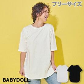 NEW ラウンド Tシャツ 4243A ベビードール BABYDOLL 子供服 大人 レディース