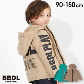 【4/12 10時〜TIME SALE 60%OFF】 BBDL(ビー・ビー・ディー・エル) 袖ロゴアウター4248K ベビードール BABYDOLL 子供服ベビー キッズ 男の子 女の子
