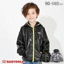 【50%OFF クリアランスSALE】 ホログラフィック ウィンドブレーカー 4429K ベビードール BABYDOLL 子供服 ベビー キッズ 男の子 女の子