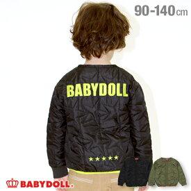 【4/12 10時〜TIME SALE 60%OFF】 キルティング アウター 4480K ベビードール BABYDOLL 子供服 ベビー キッズ 男の子 女の子
