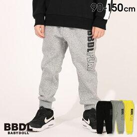 【30%OFF アウトレットSALE】 BBDL(ビー・ビー・ディー・エル) ロゴ ロングパンツ 4689K ベビードール BABYDOLL 子供服 キッズ 男の子 女の子