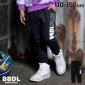 4/1一部再販 NEW BBDL(ビー・ビー・ディー・エル) ロゴジョガー ロングパンツ 4933K ベビードール BABYDOLL 子供服 ベビー キッズ 男の子 女の子