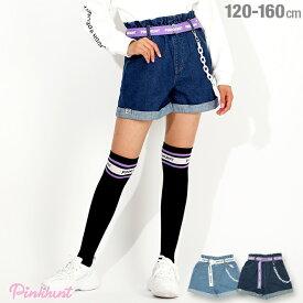 【30%OFF アウトレットSALE】PINKHUNT ピンクハント デニム ショートパンツ 4940K ベビードール BABYDOLL 子供服 キッズ ジュニア 女の子 PH