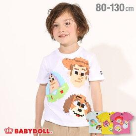 NEW ディズニー ビットマップ キャラクター Tシャツ 4993K ベビードール BABYDOLL 子供服 ベビー キッズ 男の子 女の子 DISNEY★Collection